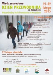 Międzynarodowy Dzień Przewodnika na Kaszubach 2015 - plakat