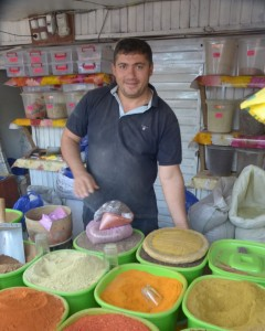 Na targowisku w Didube (Tbilisi)