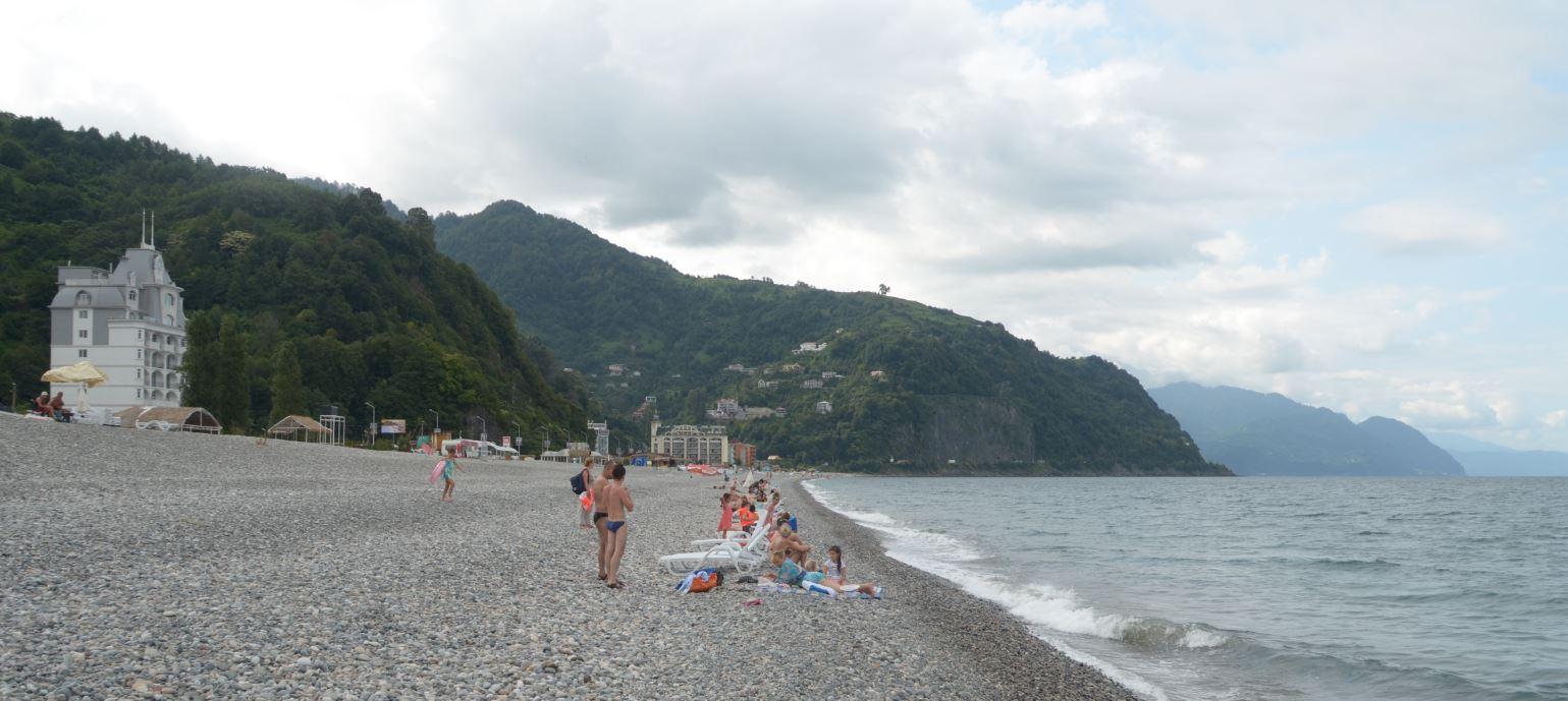 Na Morzem Czarnym niedaleko Batumi